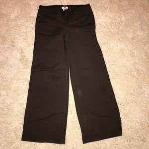 Gap Wide Leg khaki pants regular